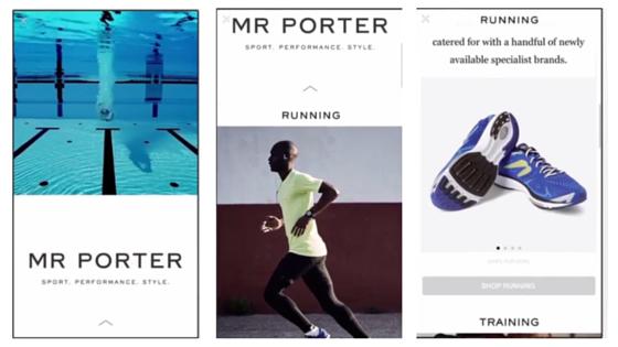 mr porter canvas ads