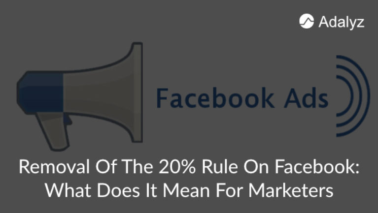 ... What Does It Mean For Marketers. Previous Next · View Larger Image  Removal of 20 rule on facebook (1)