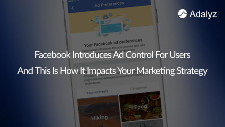 Facebook introduces ad control